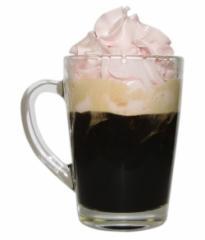 Mug for tea and coffee of the Cappuccino (a mug,