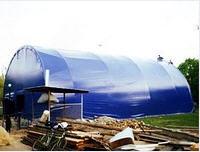 Pavilion hangar