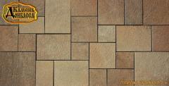 Tile from sandstone Multiple 4 cm
