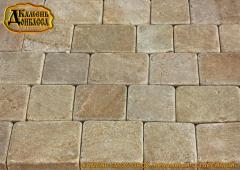 Stone Pavement sandstone reasonable made old