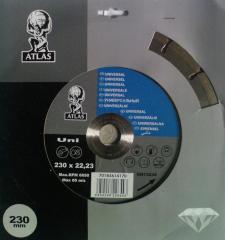 "Diamond disks ""ATLAS"