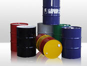 Barrels from ferrous metals, tins (the transport
