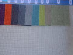 Fabric for a furniture upholstery at restaurants