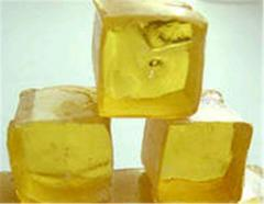 Pine rosin in barrels and by weigh