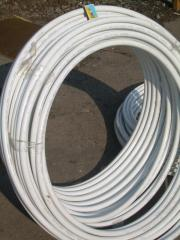 Pipe metalplastic for hot water and water heating
