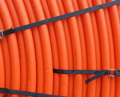 Pipes polyethylene protective for