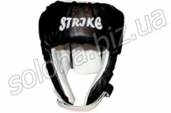 Helmet boxing leather