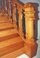 Ladders, steps, handrail