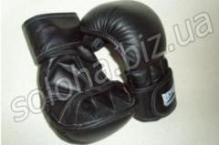 Gloves for hand-to-hand fight and fighting samb