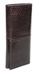 Ключница из кожи морской змеи (SNKH 01 Brown)