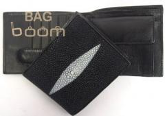 Бумажник мужской из кожи ската NWOT-65