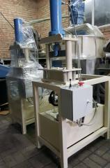 Гидравлический станок для обработки кирпича под
