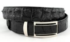 Ремень из кожи крокодила (NWBC-105-1 black)