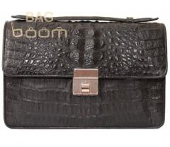 Bag from leather of crocodile (ALG 1041)