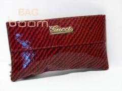 Cosmetics bag (104-19) red