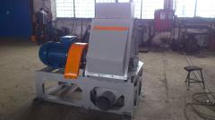 Hammer crusher for crushing of wood residue of ANY