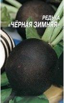 Редька чёрная зимняя, семена редьки, купить