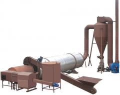 Drier installation (drying complex) for drying of