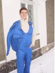 Полукомбинезон с курткой (диагональ)