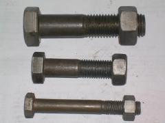 Bolt of GOST7798-70 M16h70, M18h90, M20h110,