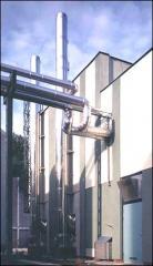 Промышленные двухконтурные дымоходы MKD