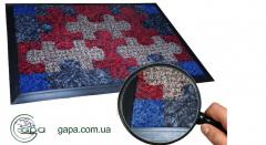 Carpets are antisplash. Nap rug of CLEANWELL
