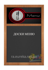 Cretaceous exclusive board for cafe, restaurants. Kiev.