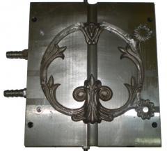 Decorative elements of a fencing