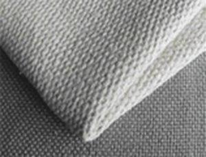 Fabric asbestine