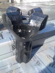 Drill bits of KNSh-110, K-110, K-130, KDP-40, KNSh-40