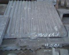 The plates which are splitting up SM-741, SMD-108, SMD-109, SMD-110, SMD-111