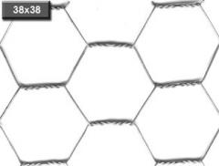 Grid with hexagonal cells