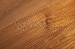 Паркетная доска Brand Wood Тик 1-пол. лак,