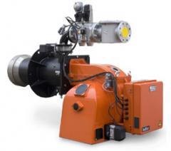 Промышленные двухступенчатые прогрессивные газовые горелки GI 500 DSPGN ME 60Hz