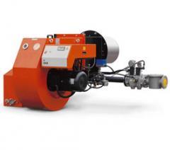 Промышленные двухступенчатые прогрессивные газовые горелки  GI 1000 LX 60Hz