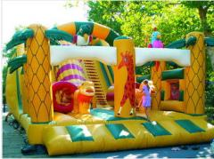 Production and sale of children's attractions