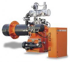 Промышленные двухступенчатые прогрессивные комбинированные горелки GI MIST 350 DSPGM CE 50Hz