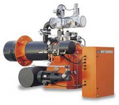 Промышленные двухступенчатые прогрессивные комбинированные горелки  GI MIST 420 DSPNM-D CE 50Hz