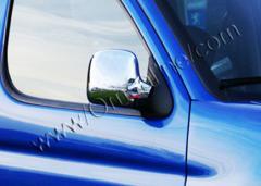 Pad on ABS mirrors Carmos Peugeot Partner chrome