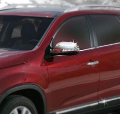 Pad on ABS mirrors Kia Sorento 2010 chrome