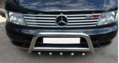 Radiator grille steel pad of Carmos Mercedes Vi