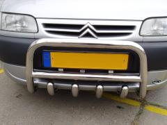 Front protection Peugeot Partner arch
