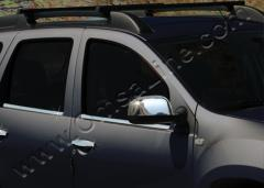 Pad on mirrors nerzh option 1 Renault Duster.