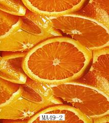 Akwa the press MA49-2 orange width is 100 cm