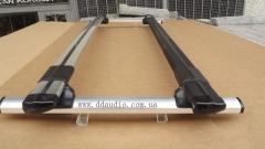 Aerodynamic cross-pieces on the VW T5 Railing