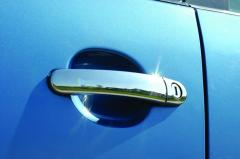 Decorative molding on Nissan Qashqai 2007-2010