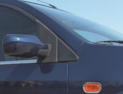 Cross arches on car of VW Multivan 2010 with the