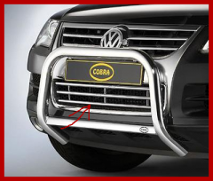 Grid of front bumper integral for Volkswagen