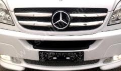 Radiator grille steel pad of Carmos Mercedes