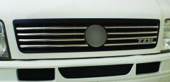 Steel strips for the LT Omsa radiator grille of 8